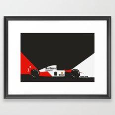 MP4/6 Framed Art Print