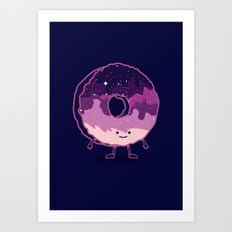 The Cosmic Donut Art Print