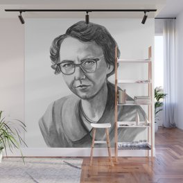 Flannery O'Connor Wall Mural