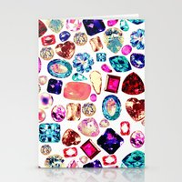gem Stationery Cards featuring GEM by Liz Haywood
