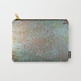 Soft Seaweed Water Marbling Carry-All Pouch
