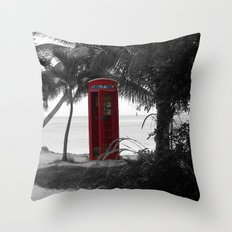Why Do You Stay Here? Throw Pillow