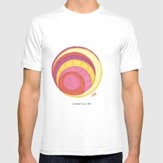 Cirque-Cle #6 MEDIUM White Mens Fitted Tee