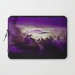 I Want To Believe - Purple Laptop Sleeve
