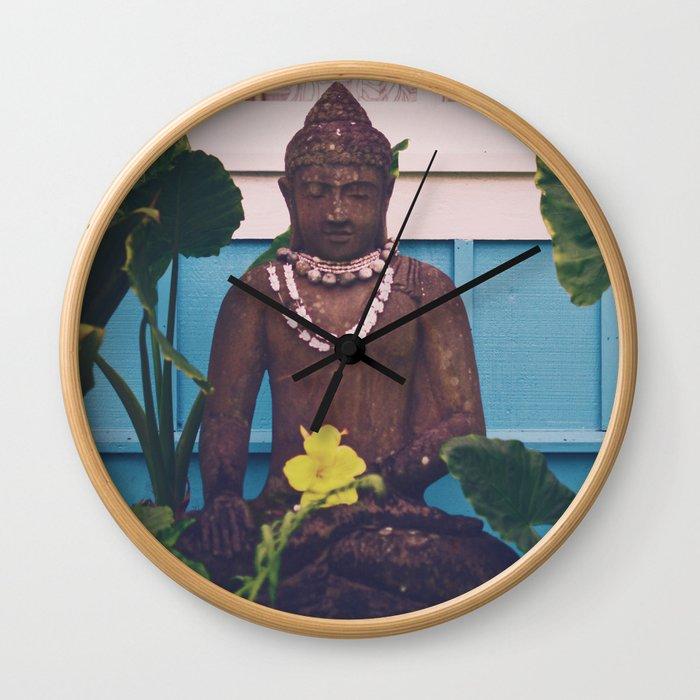 Vintage Kauai Buddha Wall Clock