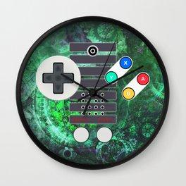 Classic Steampunk Game Controller Wall Clock