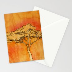 Wooden Tree Stationery Cards