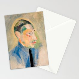 Igor Stravinsky (1882 – 1971) by Robert Delaunay in 1918 Stationery Cards
