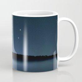 Big Dipper, Ursa Major star constellation, Night sky, Cluster of stars, Deep space Coffee Mug