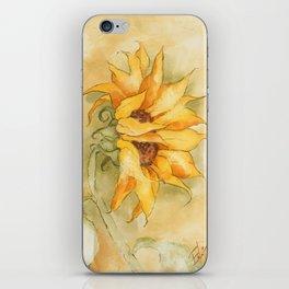 Fresco Sunflower iPhone Skin