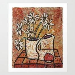 Margaritas Original watercolor Art Print
