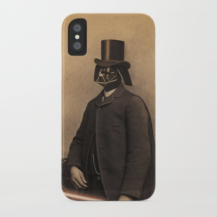 Lord Vadersworth iPhone Case