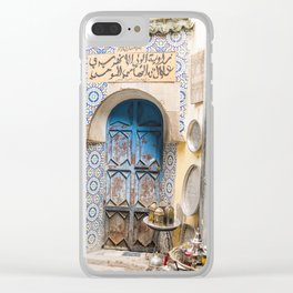 Doorway - Fes Ancient Medina Clear iPhone Case