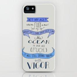 The Ocean..  iPhone Case