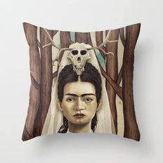 FRIDArk Throw Pillow