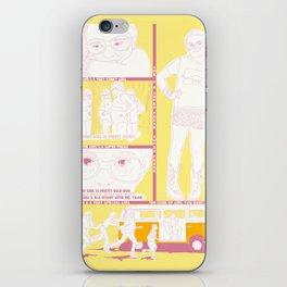 PEQUEÑA MISS SUNSHINE iPhone Skin
