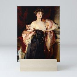"""John Singer Sargent """"Portrait of Lady Helen Vincent"""" Mini Art Print"""