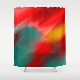 From Within The Sky Shower Curtain