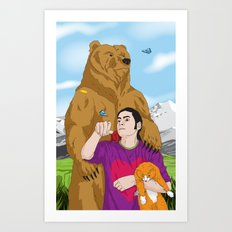 Tom of the Mountains Art Print