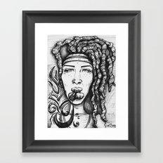 Trippy Hippy Framed Art Print