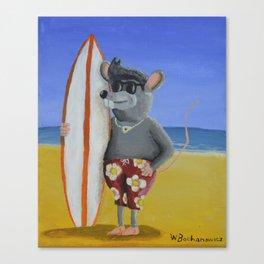 Surf Rat Canvas Print