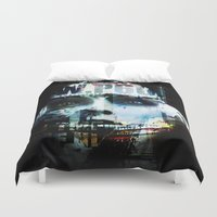 android Duvet Covers featuring Android by Studio46