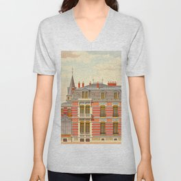 Brick constructions; ordinary brick from a decorative point of view - J. Lacroux and C. Détain - 187 Unisex V-Neck