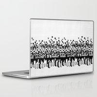 notebook Laptop & iPad Skins featuring School notebook 3 by Eva Bellanger