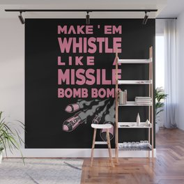 Whistle - BLACKPINK Wall Mural