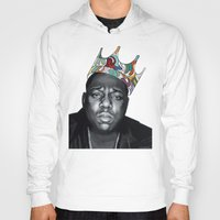 notorious Hoodies featuring Notorious by Jared Yamahata