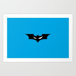 Batman_02 Art Print