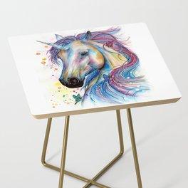 Whimsical Unicorn Side Table