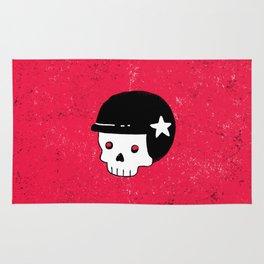 skull dude Rug
