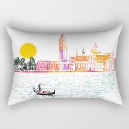 Sunset in Venice Rectangular Pillow