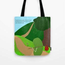 rusty leaves town. Tote Bag