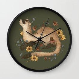 Black-footed Ferret Wall Clock