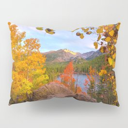 Fall In The Rocky Mountains Pillow Sham