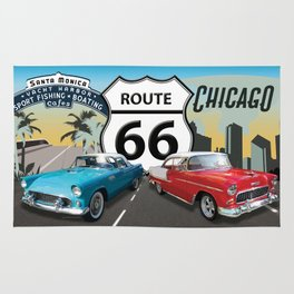 Route 66 #3 Rug
