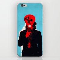 eddie vedder iPhone & iPod Skins featuring Eddie Vedder by Alec Goss