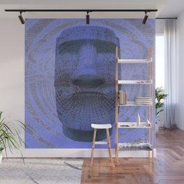 Eastern Island Statue Tapestry Print Wall Mural