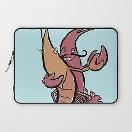 Swaying Lobster Laptop Sleeve