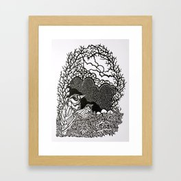 Neatly Nested Framed Art Print
