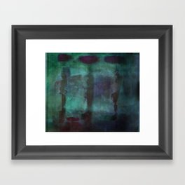 Abstract - Silhouette Framed Art Print