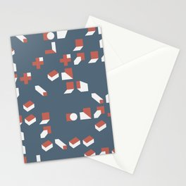 Abstract Geometric Artwork 77 Stationery Cards