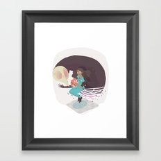 I've Been Lied To / Now I'm Fuzzy Framed Art Print