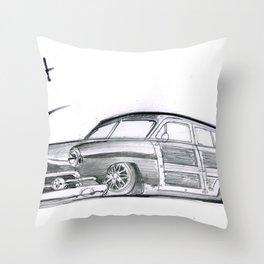 Built to Haul Throw Pillow