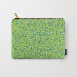 Rockwell Birds - Green Carry-All Pouch