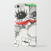 gizmo iPhone & iPod Cases featuring GIZMO JOKER by John McGlynn