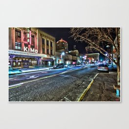 Historic Kimo Theatre On Route 66..... Canvas Print