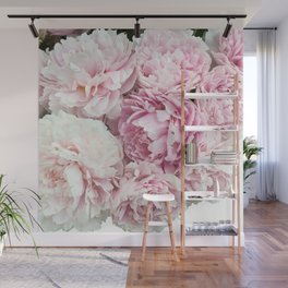 A bunch of peonies Wall Mural